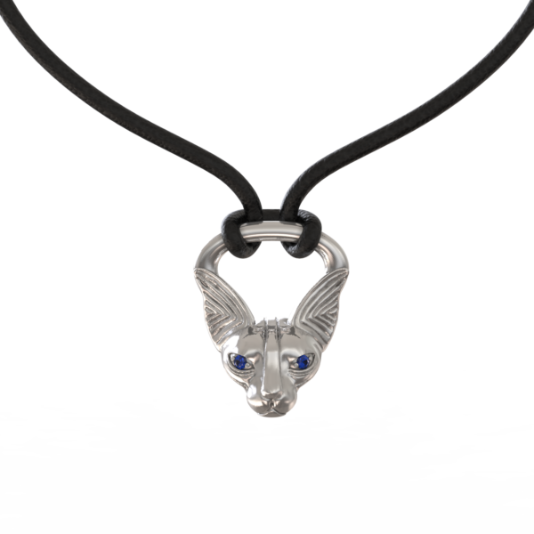 Кошка-сфинкс – кулон