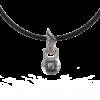 Гиря – кулон (с камнями)