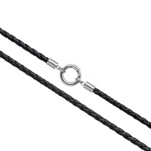 Мужской шнурок кольцо