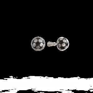 Футбольный мяч – серьги-пусеты