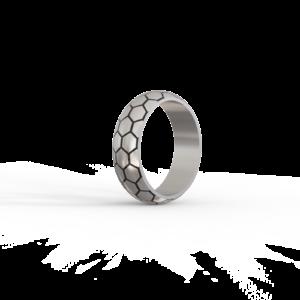 Футбол – кольцо (с эмалью)