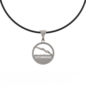 Пловчиха – кулон