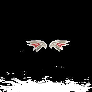 ХК Авангард – серьги-пусеты