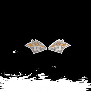 ХК Металлург Мг – серьги-пусеты