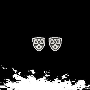 КХЛ – серьги-пусеты