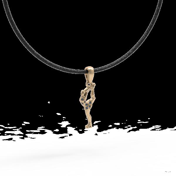 Фигуристка – кулон