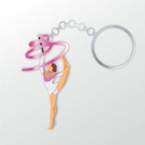 Брелок гимнастка