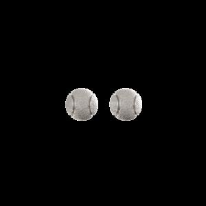 Теннисные мячи – серьги-пусеты